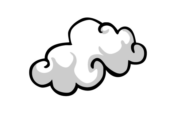 580x386 Cloud Vector Graphic By Arief Sapta Adjie