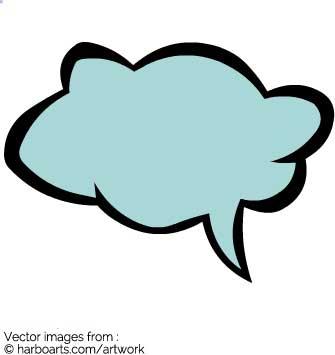 335x355 Download Speech Bubble Cloud