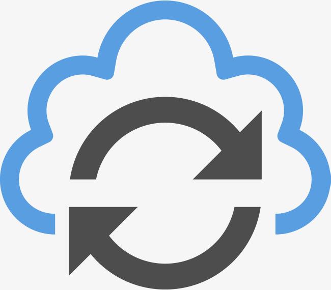 650x570 Blue Cloud Vector, Arrow, Vector Arrow, Cloud Services Png And
