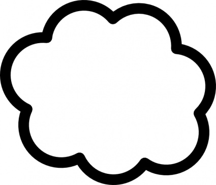 425x364 Free Download Of Cloud Clip Art Vector Graphic