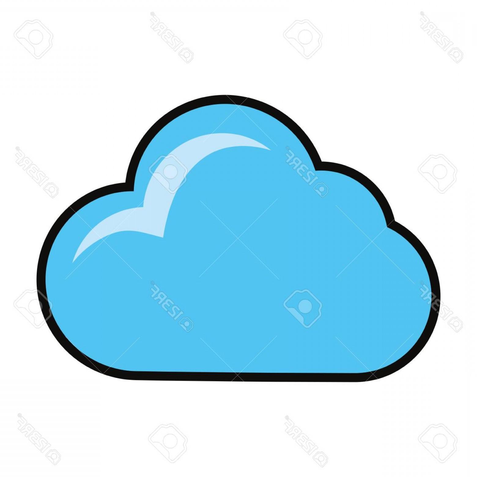 1560x1560 Cartoon Cloud Vector Symbol Orangiausa
