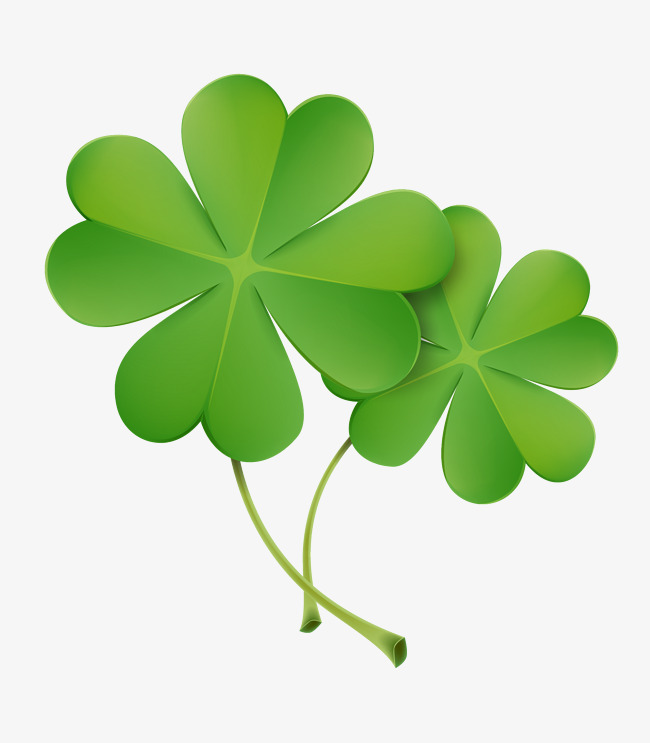 650x743 Green Clover Vector, Green Clover, Clover, Green Vector Png And