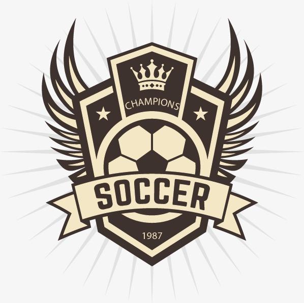 598x597 Football Club Logo Identity, Logo Clipart, Football, Logo Identity