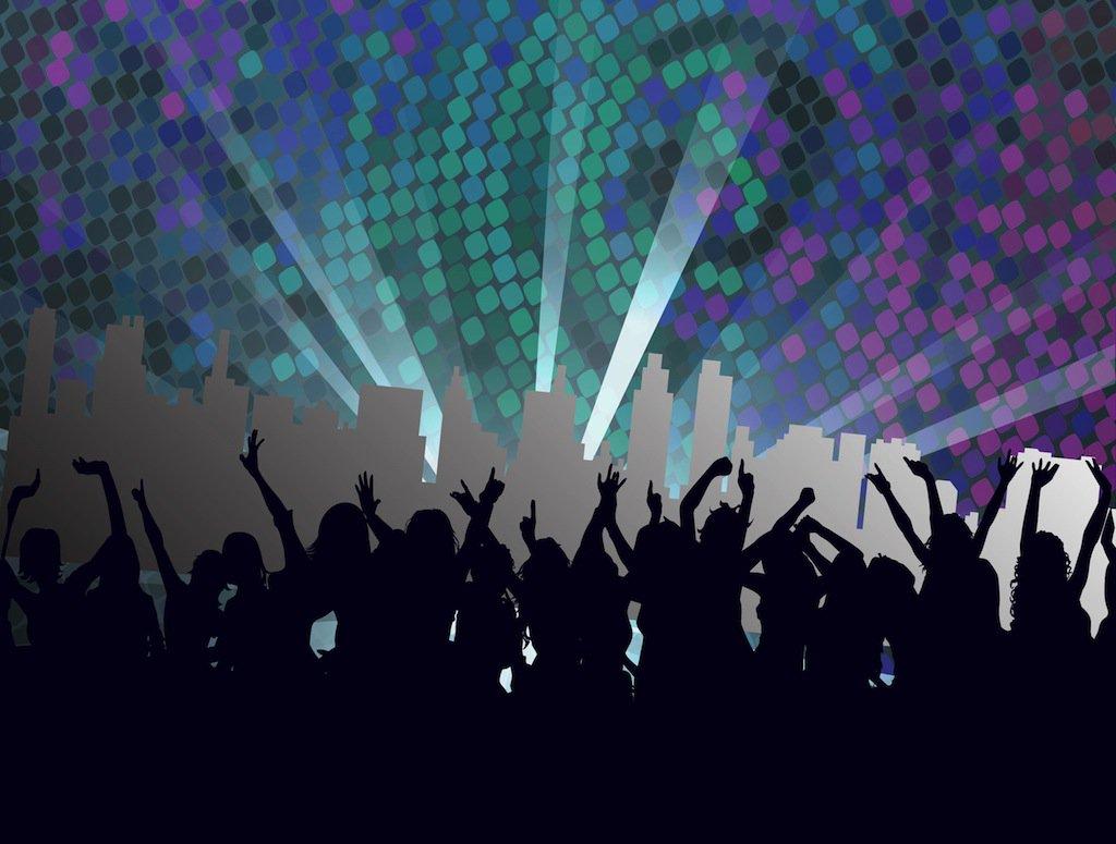 1024x775 Nightclub Footage Vector Art Amp Graphics