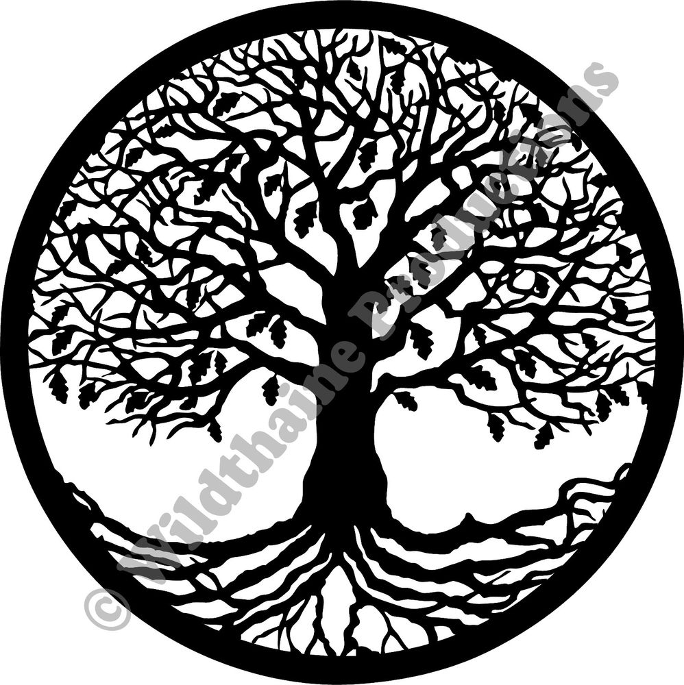 998x1000 Dxf File Tree Of Life