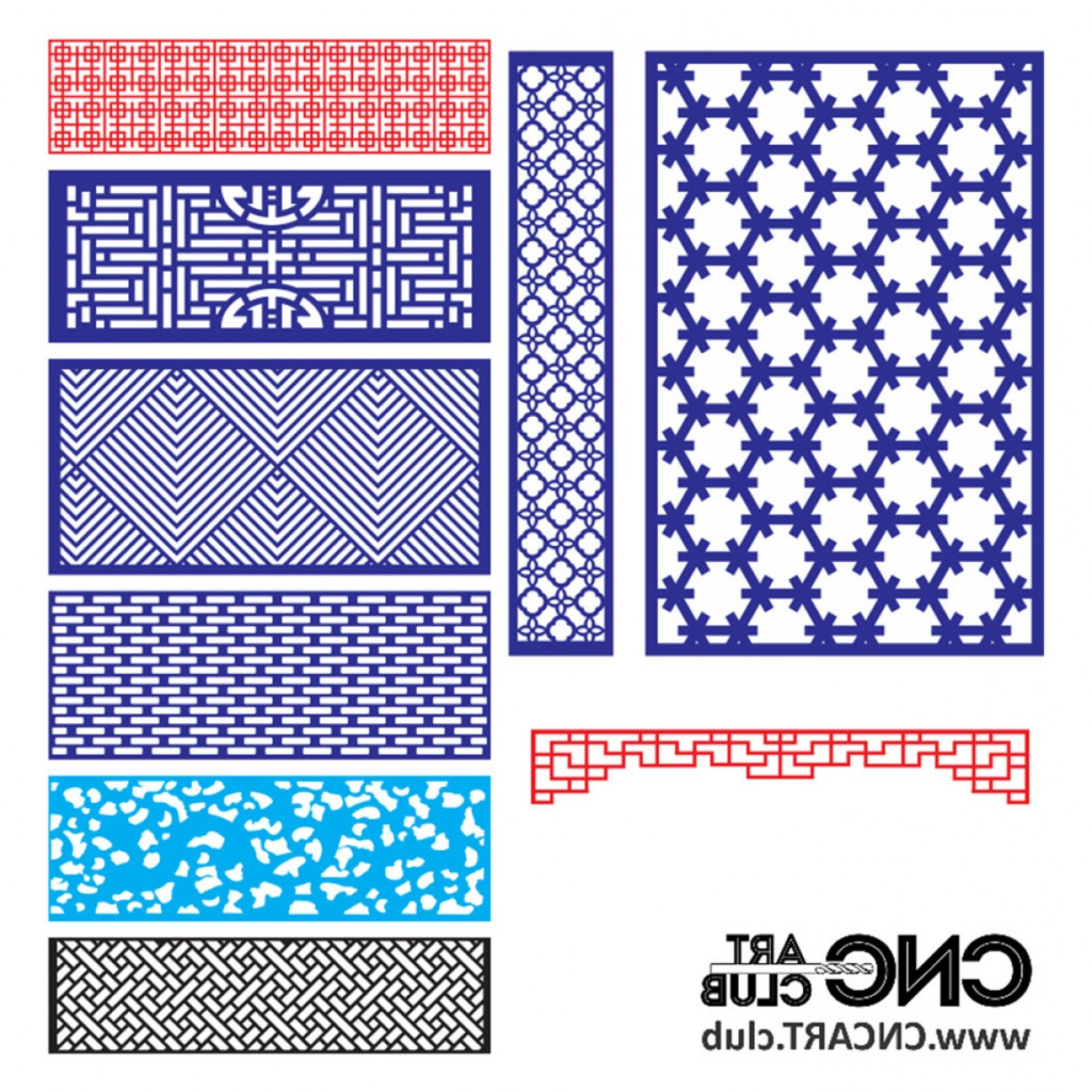 1228x1228 Free Download Vector Designs For Cnc Machines Decoratice Lattice
