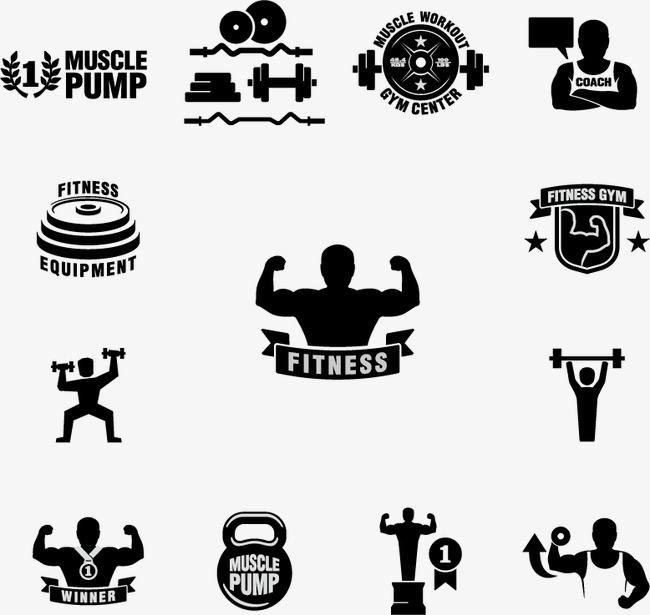 650x615 Fitness Logo Icon, Fitness Vector, Logo Vector, Icon Vector Png