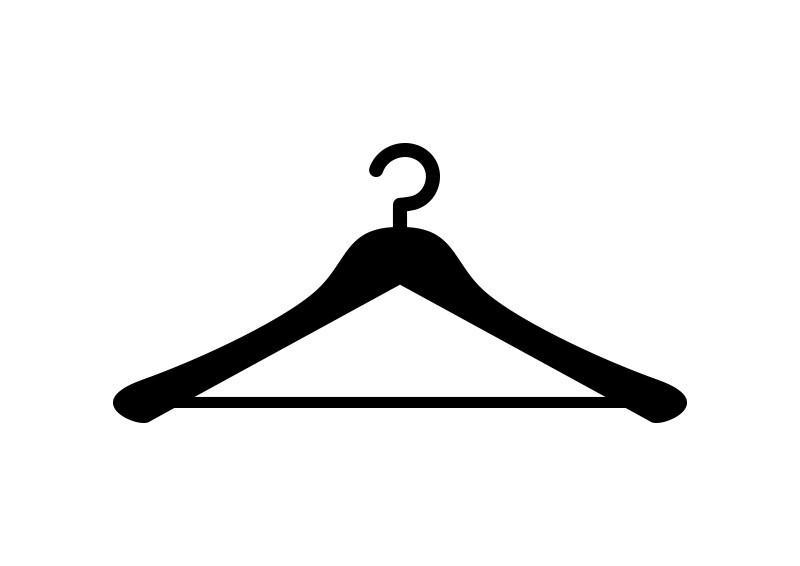 800x566 Clothes Hanger Free Vector
