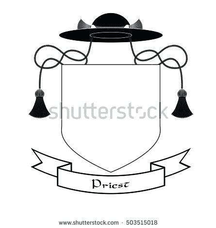 445x470 Download Coat Of Arms Template Stock Vector Illustration Crowns