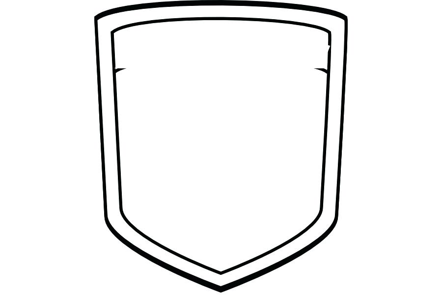 900x600 Amazing Blank Family Crest Template Shield Crown Coat Arms Vector