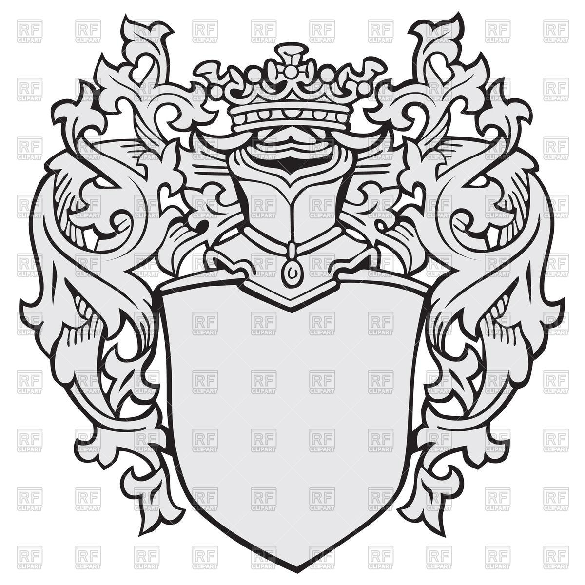 1200x1200 Knightly Medieval Heraldic Element