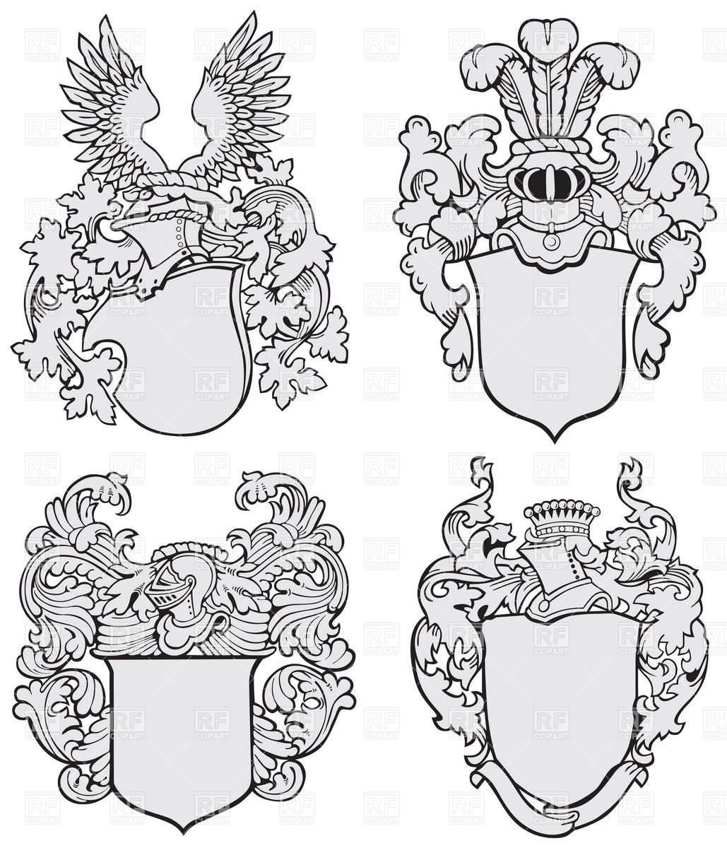 1029x1200 Knightly Royal Coats Of Arms