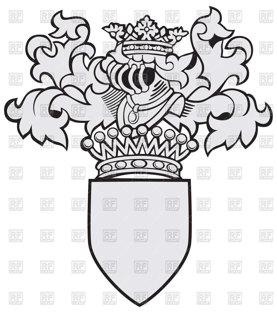 1062x1200 Template Of Coat Of Arms