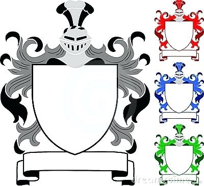 graphic relating to Printable Coat of Arms referred to as Coat Of Fingers Template Vector at  Cost-free for