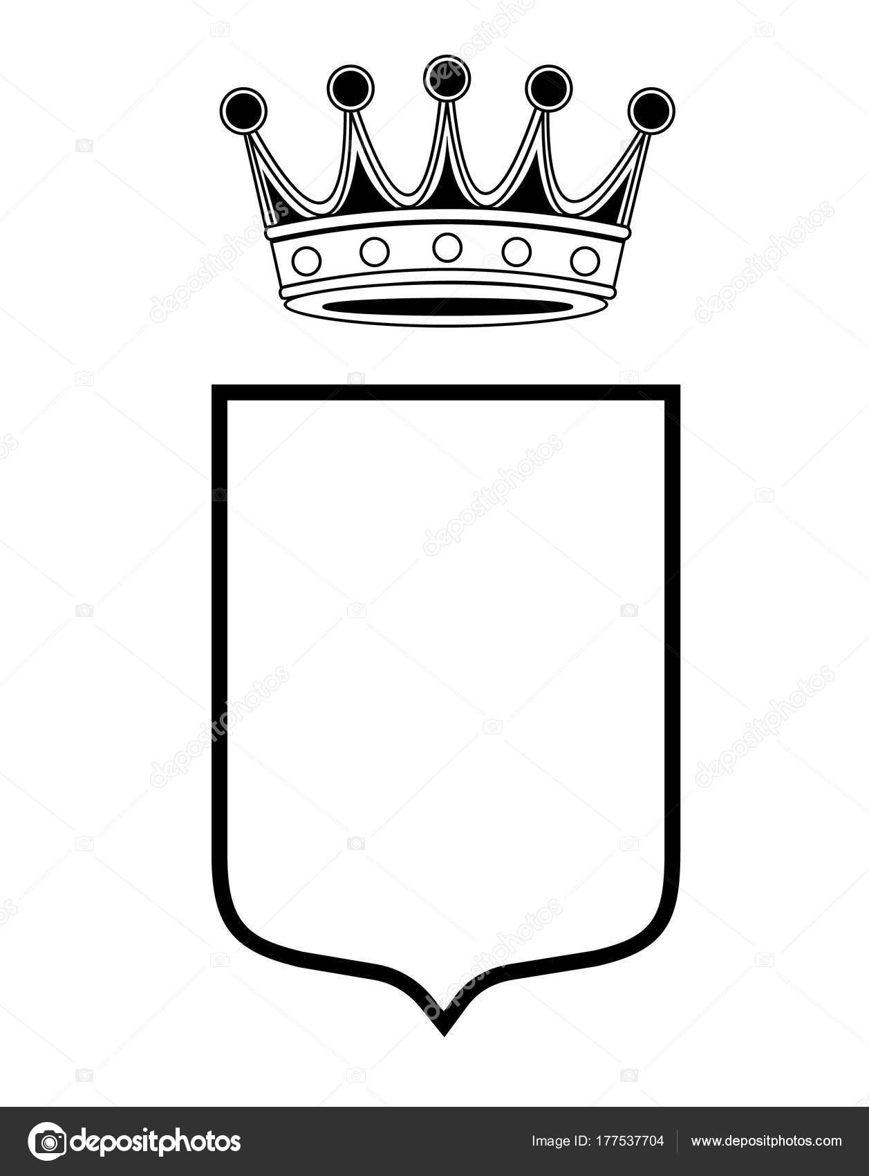 1257x1700 Coat Of Arms Template New Family Shield Template Crown Coat Arms