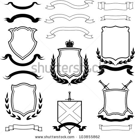 450x465 Collection Of Coat Of Arms Shield Clipart High Quality, Free
