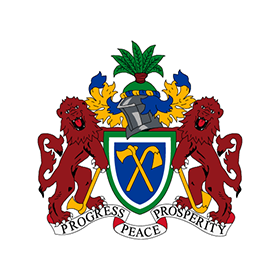 280x280 Coat Of Arms Of Gambia Logo Vector Free Download