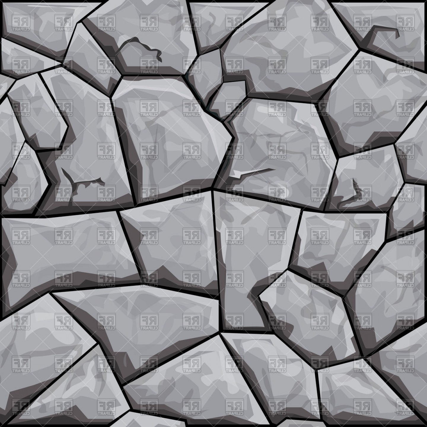 1440x1440 Simple Grey Stone Seamless Pattern Vector Clipart Orangiausa