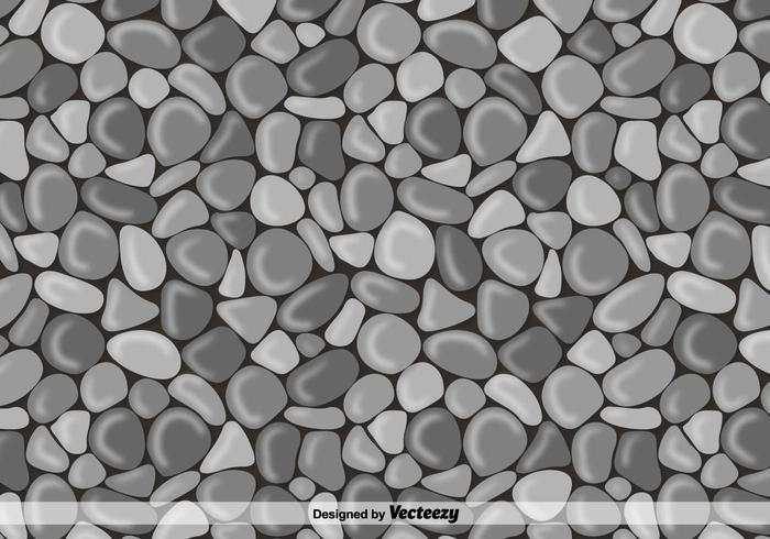 700x490 Vector Stone Wall Background
