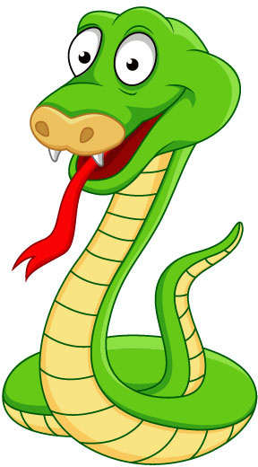 288x520 Elements Of Funny Cartoon Cobra Vector Free Vector In Encapsulated
