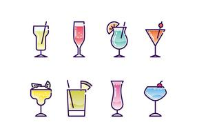 286x200 Cocktail Glass Free Vector Art
