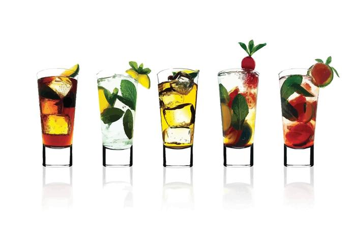 700x490 Cocktail Glasses