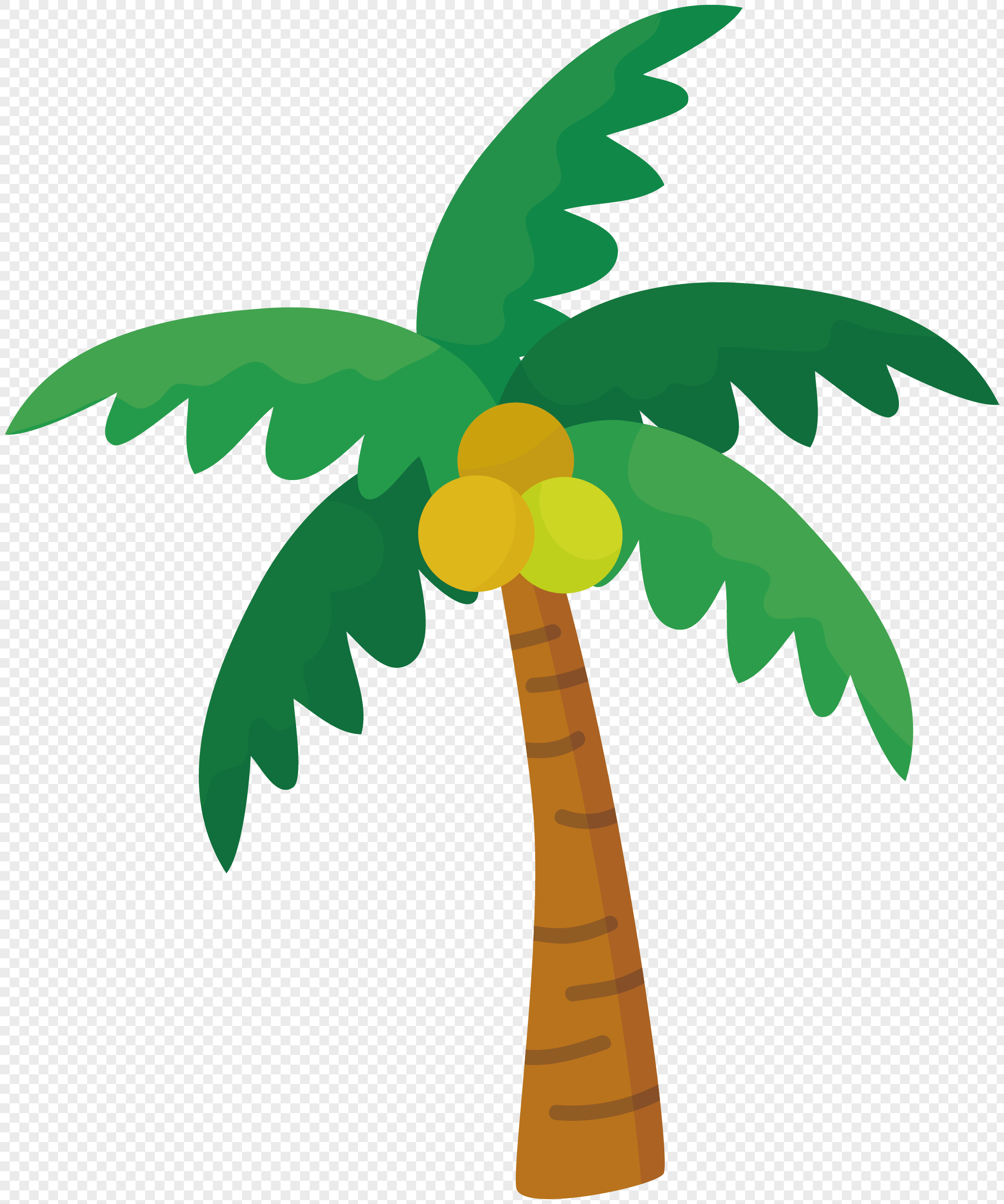 Coconut Tree Vector at GetDrawings | Free download