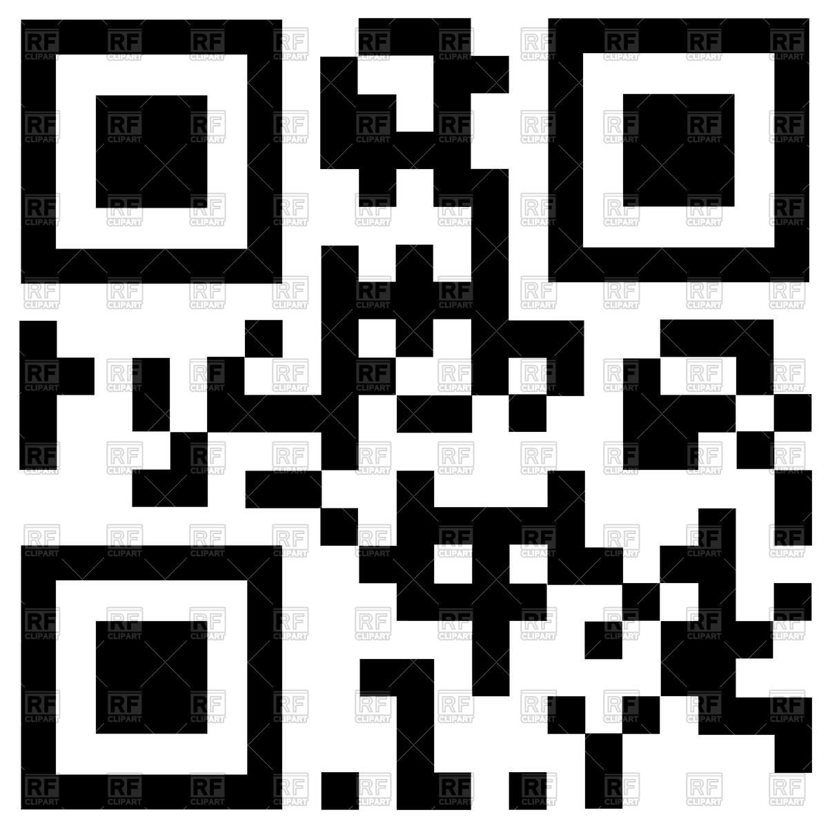 1200x1200 Qr Code Discount Vector Image Vector Artwork Of Design