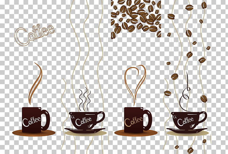 728x494 Espresso Coffee Cup Coffee Bean, Coffee Beans Png Clipart Free