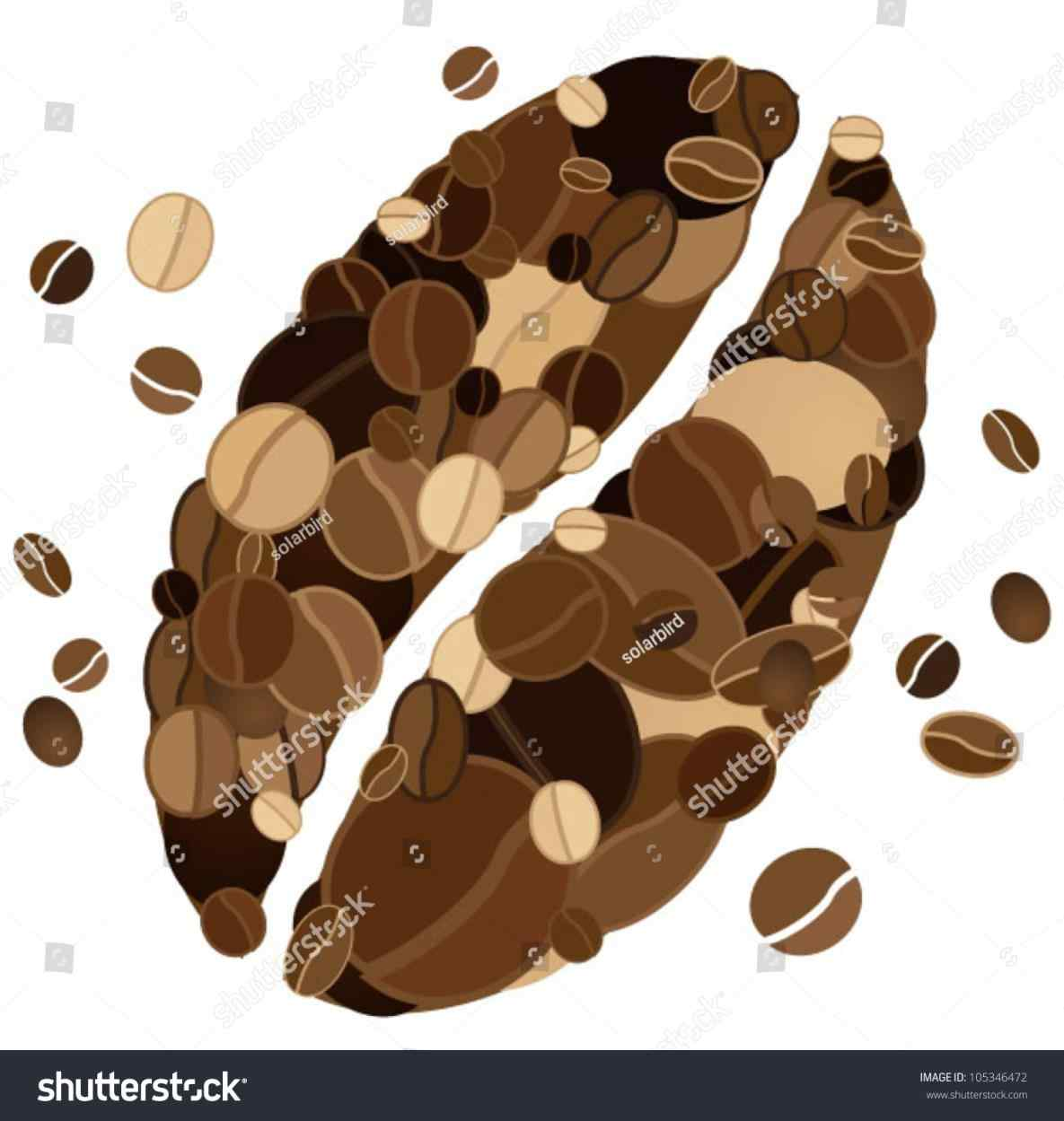 1185x1249 The Images Collection Of Aroma Drink Stock Icon Coffee Bean Vector