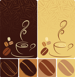 254x260 Coffee Beans Vector Graphics To Download