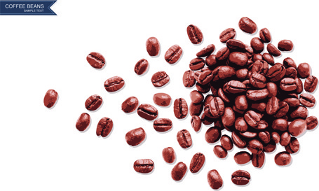 455x273 Coffee Beans Background Free Vector Download (48,787 Free Vector