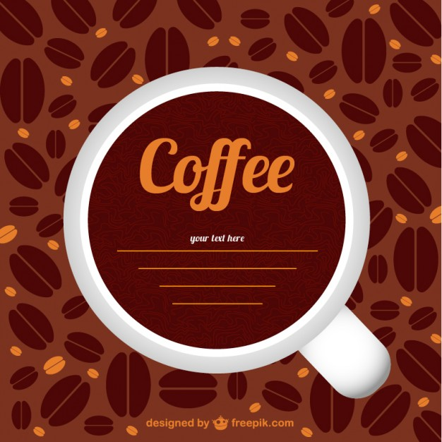 626x626 Coffee Cup And Beans Vector Free Download