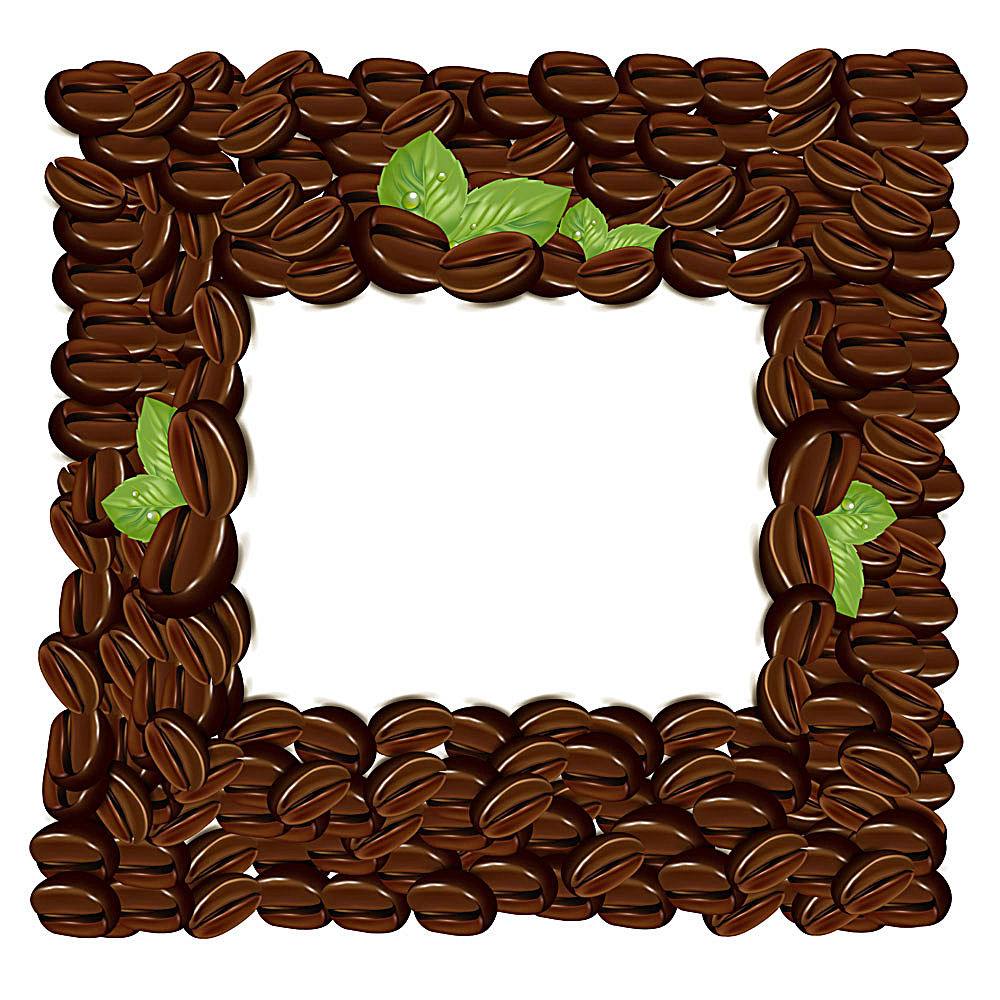 1000x1000 Vector Coffee Bean Background Design Free Download Eps Files