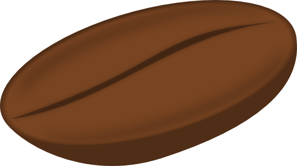 600x336 Coffee Bean Clipart Coffee Bean Clip Art Free Vector 4vector
