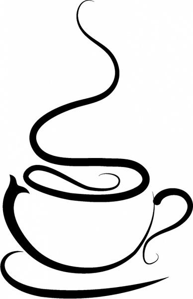 388x600 Coffee Cup Free Vector In Adobe Illustrator Ai ( .ai