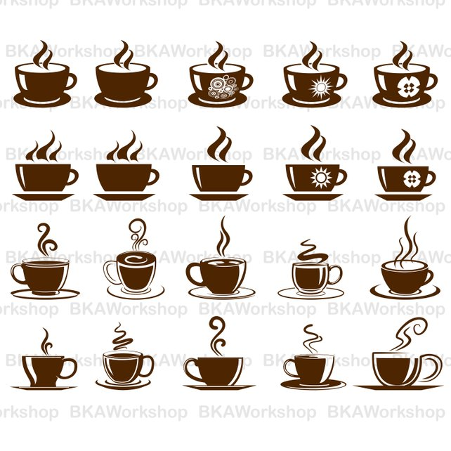 642x642 Coffee Cup Svg Coffee Cup Vector Coffee Cup Clipart Etsy