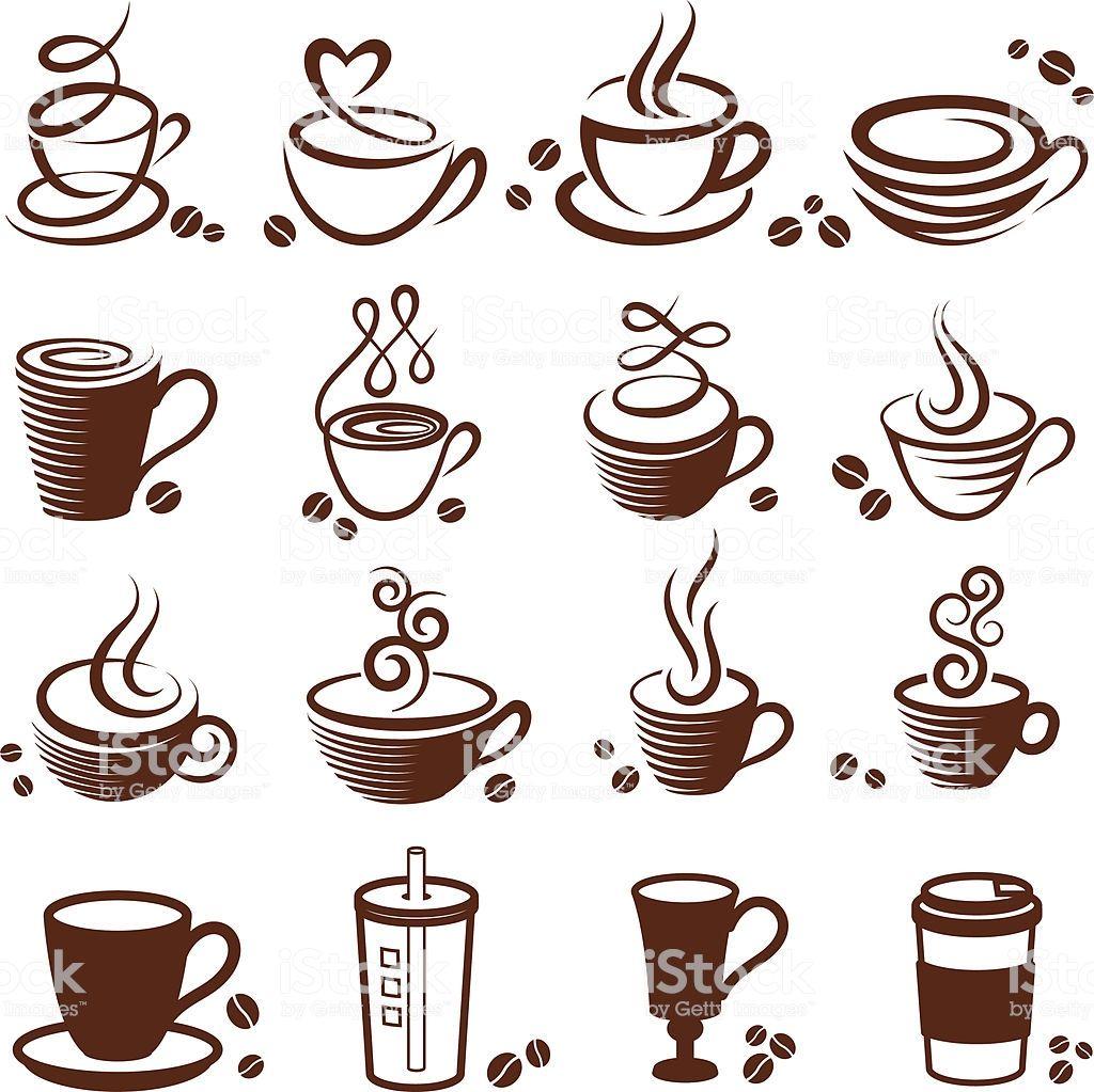 1024x1023 Coffee Cup Vector White Icon Set Aparelhos