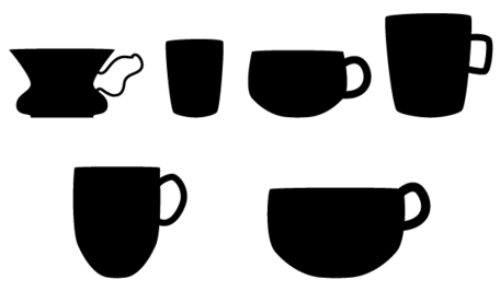 456x266 Free Coffee Cup Silhouette Vector Free Clipart And Vector Graphics