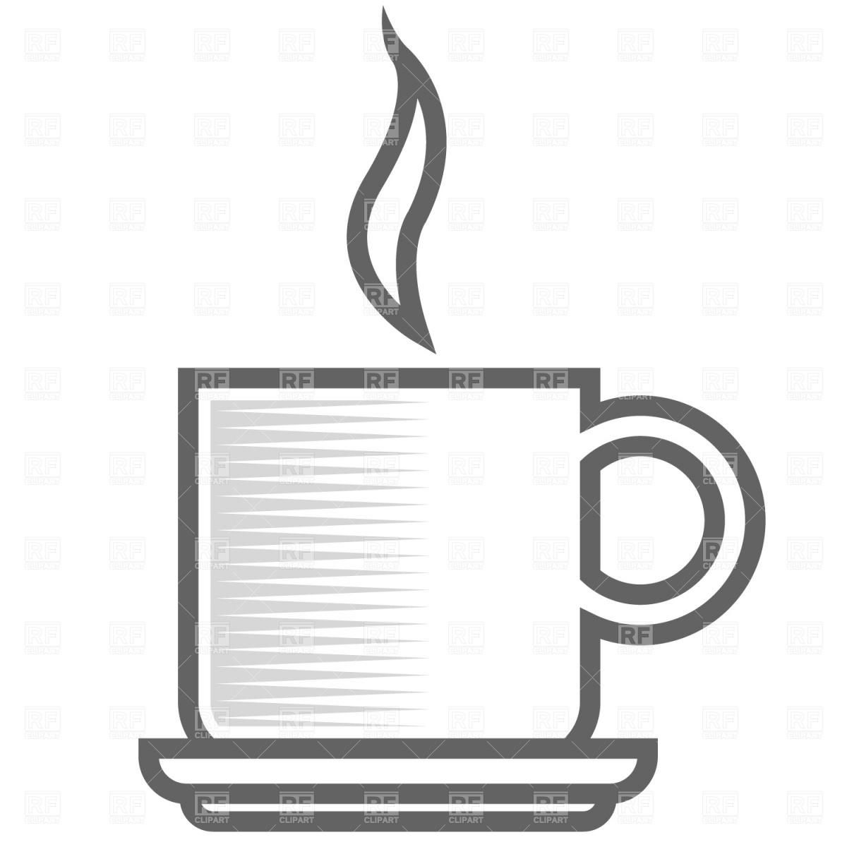 1200x1200 Symbolic Coffee Cup Vector Image Vector Artwork Of Food And