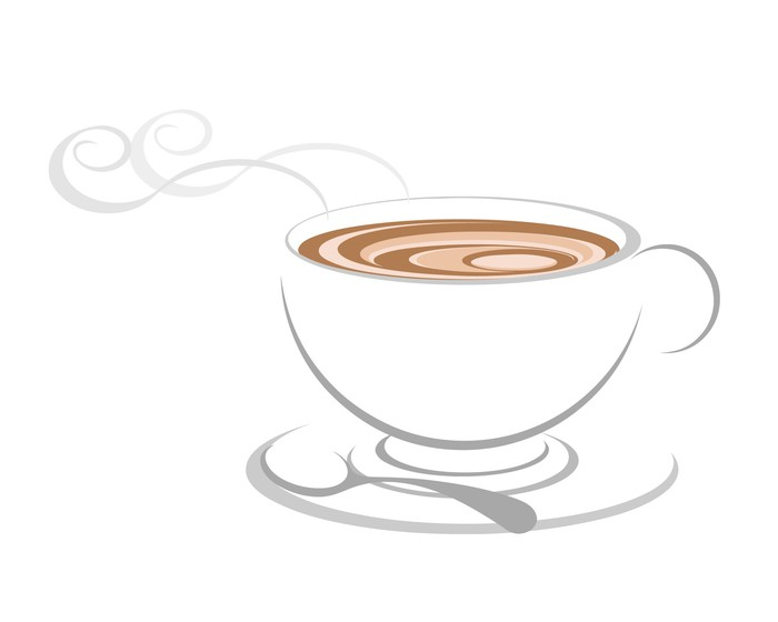 700x560 Coffee Cup Icon, Vector. Wall Mural We Live To Change