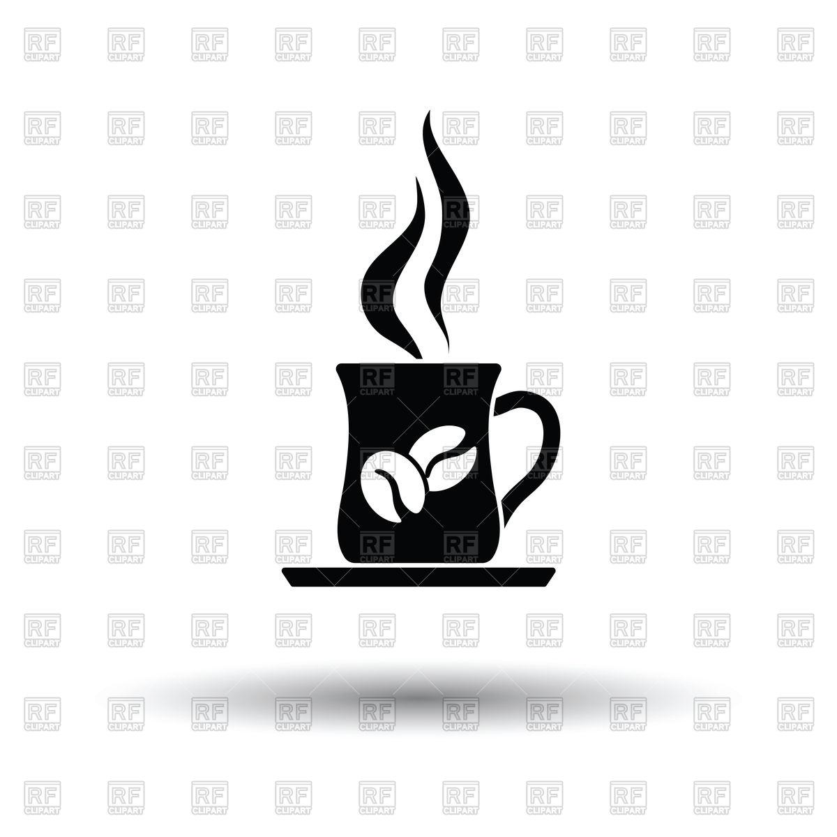 1200x1200 Coffee Cup Icon Vector Image Vector Artwork Of Signs, Symbols