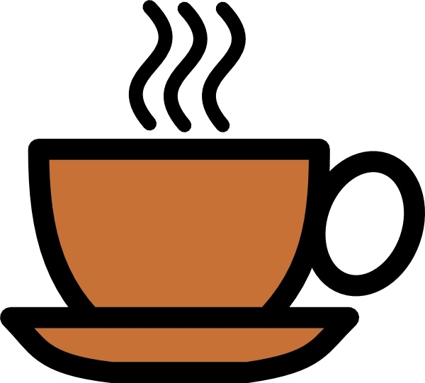 600x541 Coffee Cup Icon Clip Art Free Vector In Open Office Drawing Svg