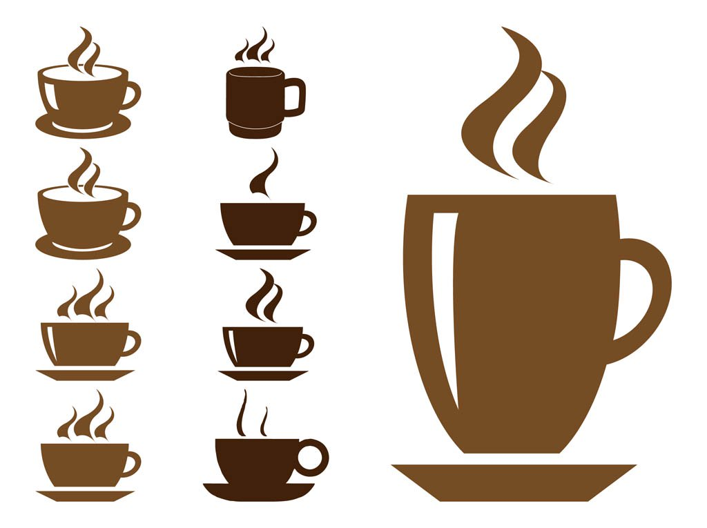 1024x765 Coffee Cups Graphics Vector Art Amp Graphics