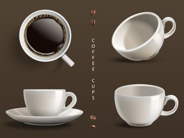 588x441 Coffee Cup Vector Illustration Free Download