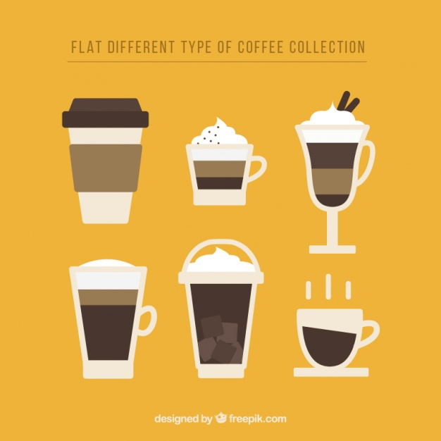 626x626 Flat Design Of Coffee Mugs Vector Free Download