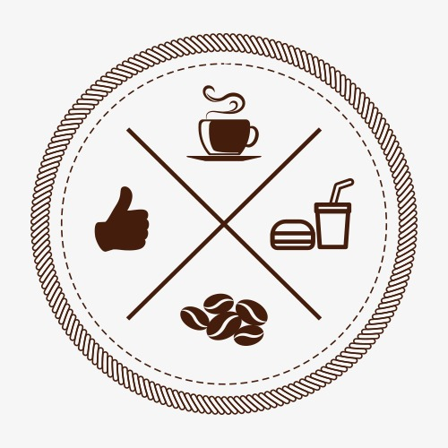500x500 Coffee Icon Vector, Coffee Icon, Coffee Shop, Label Png And Vector