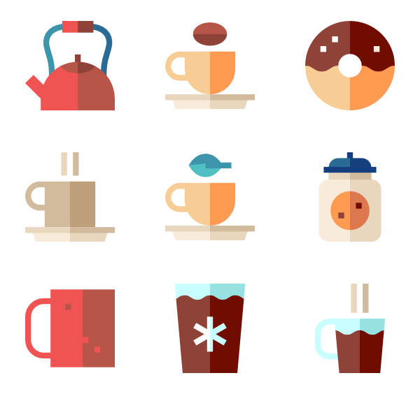 600x564 Coffee Cup Icons
