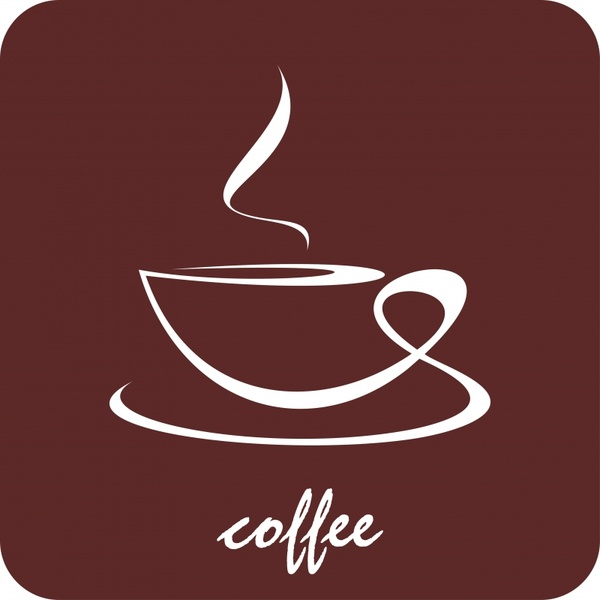 600x600 Coffee Icon Vector Free Vector In Encapsulated Postscript Eps