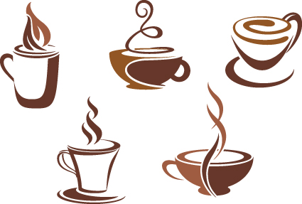 425x287 Vector Coffee Icons Design Elements 01 Free Download